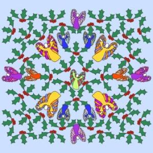 31 Holly and angels colored 4web